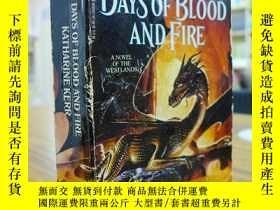 二手書博民逛書店KATHARINE罕見KERR:DAYS OF BLOOD AN