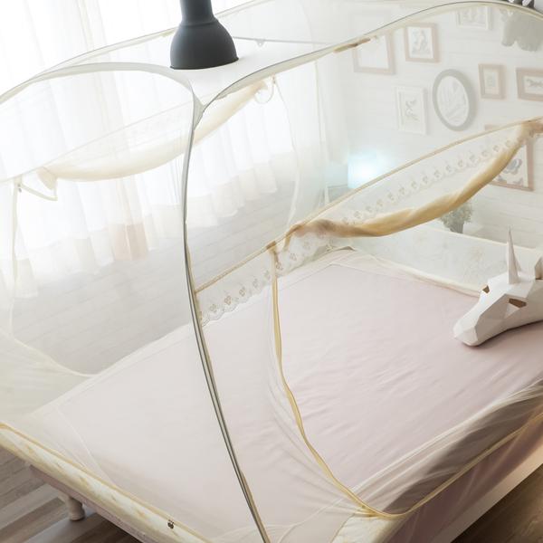 成吉思汗蚊帳 雙人5尺*6.2尺適用 三門立方大空間 挑高無壓迫感