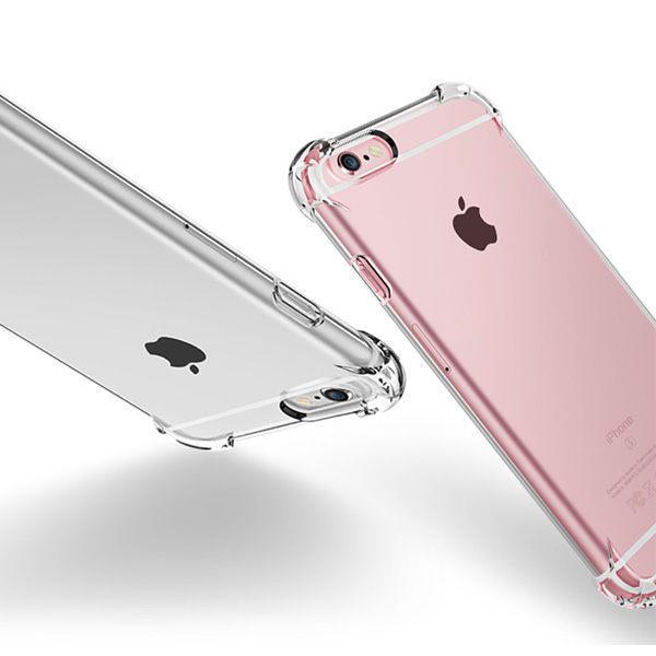 高透四角防摔 蘋果 SE2 iPhone11 XR XS iPhoneX i8 Plus i7 i6s 透明殼 矽膠 防摔 全包邊 軟殼 手機殼 保護套