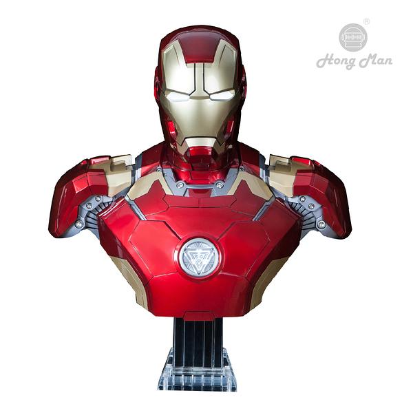 [復仇者聯盟4] MARVEL 鋼鐵人Mark43 BUST半身胸像1:1藍牙音響