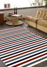 范登伯格 維多利亞 海軍風條紋地毯-16...