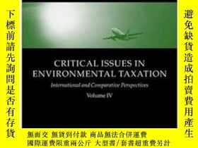 二手書博民逛書店Critical罕見Issues In Environmental TaxationY364682 Deket