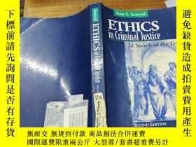 二手書博民逛書店Ethics罕見In Criminal Justice Four