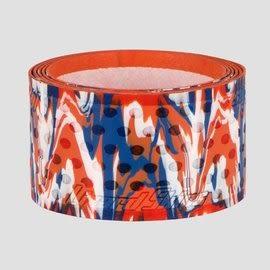 「野球魂中壢店」--「Lizard Skins」蜥蜴皮球棒握把布(橘×藍,厚度=0.5mm)