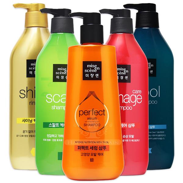 韓國 Mise en scene 修護/強化/水感 洗髮精 潤髮乳 680ml