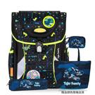 TigerFamily 全球新一代智能秒開磁扣 學院風護童安全燈 輕量 護脊書包- 恐龍迷宮 NO.H2950