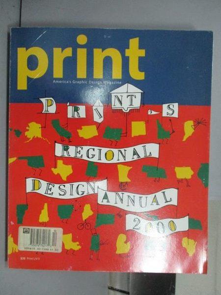 【書寶二手書T9/設計_QFU】Print s Regional Design Annual 2000