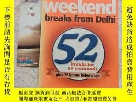 二手書博民逛書店weekend罕見breaks from Delhi週末從德里出