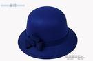 禮帽秋冬季女帽 圓頂禮帽毛呢女士盆帽時裝帽子圓帽冬季女帽時裝帽子  凱斯盾數位3c