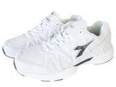 『雙惠鞋櫃』◆DIADORA迪亞多那 ◆另有黑色 素面基本款 運動鞋/學生鞋 ◆ (DA9819) 白