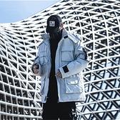 連帽外套-防風多口袋純色寬鬆工裝男夾克2色73zj10【巴黎精品】