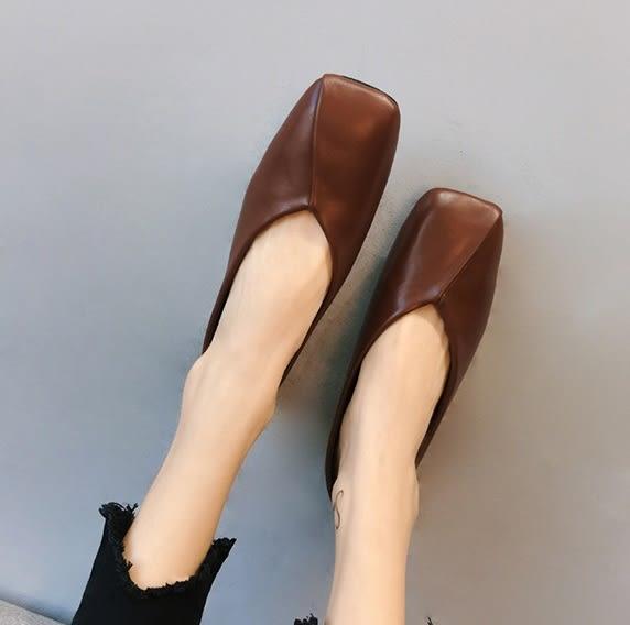 (GG-9821)復古好穿豆豆鞋娃娃鞋