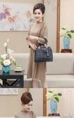 媽媽包包女新品新款秋冬時尚百搭大容量斜背包手提包簡約中年女包【快速出貨】