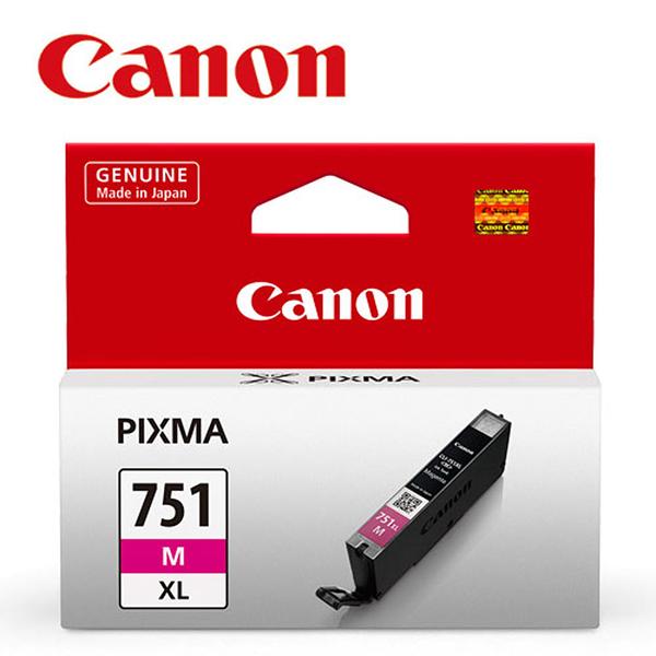 CANON CLI-751XL-M 原廠紅色高容量墨水匣