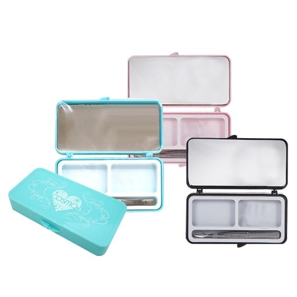COSMOS Pink Lady 假睫毛收納盒(附鏡+專用夾)3色可選【小三美日】