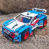 高難度拼裝積木車20077越野賽車模型汽車 熊熊物語
