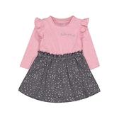 mothercare 粉灰氣質裙子套裝-星星舞者(M0QB735)09M