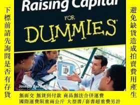 二手書博民逛書店Raising罕見Capital For DummiesY410016 Joseph W. Bartlet..