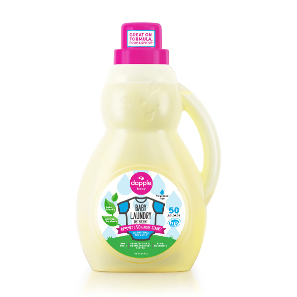 美國 Dapple 洗衣精 無香精1.5L