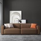 意式布藝沙發大小戶型簡約現代客廳輕奢科技布沙發組合套裝家具  一米陽光