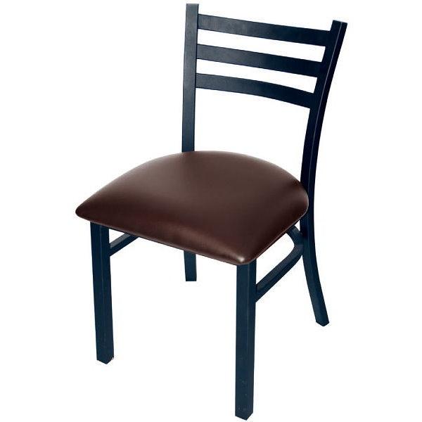 餐椅 AT-857-16 小7靠背椅(咖啡)【大眾家居舘】