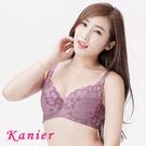 【Kanier卡妮兒】浪漫風情台灣製機能型內衣(藍/紫_CD)_2322