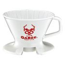 金時代書香咖啡 GABEE. V01陶瓷咖啡濾器組 1-2人份(紅) HG5545W-R