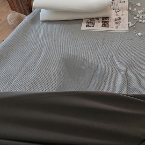 【防水】單人尺寸3.5X6.2尺 透氣網布防水床包式保潔墊 四季透氣 加強防護力