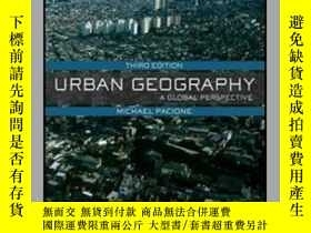 二手書博民逛書店Urban罕見Geography: A Global Persp