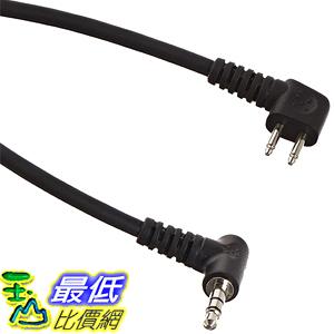[美國直購] 3M Peltor Audio Input Cable FL6N 3.5mm Stereo Plug 36吋 Length Black 音頻輸入線
