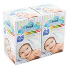 TwinS 乾濕兩用嬰兒紗布毛巾(120枚入*2盒)【TwinS伯澄】