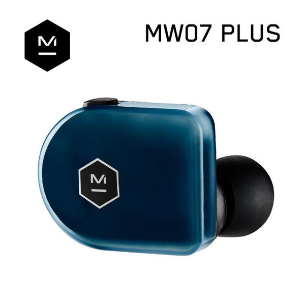 公司貨『 Master & Dynamic MW07 Plus 深海藍 』真無線藍牙耳機/精品藍芽5.0+aptX/IPX5