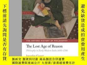 二手書博民逛書店The罕見Lost Age Of Reason: Philoso