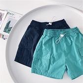男童短褲 夏季新款男童純棉工裝休閒短褲兒童5分褲子-Ballet朵朵