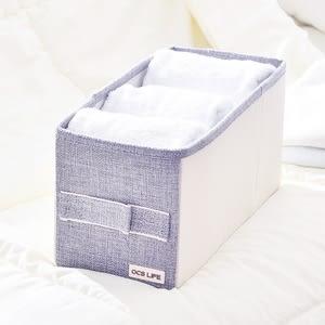 日式布質衣物收納袋-(灰)大