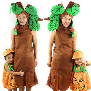 兒童大樹服 表演 無紡布