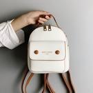 後背包 2021新款迷你雙肩包潮牌女斜跨小包時尚ins百搭韓版定型小背包 8號店
