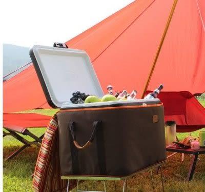 丹大戶外【Camping Scape】韓國行動冰箱保護套/適用Coleman 51L冰箱/收納盒 8809452770101