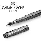CARAN d'ACHE 瑞士卡達 RNX.316 PVD(黑)鋼筆-F / 支