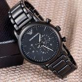EMPORIO ARMANI 亞曼尼 46mm 都會型男時尚腕錶 AR1895
