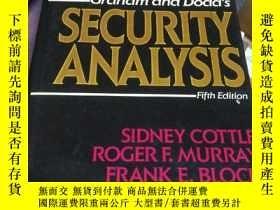 二手書博民逛書店Security罕見Analysis(Fifth Edition