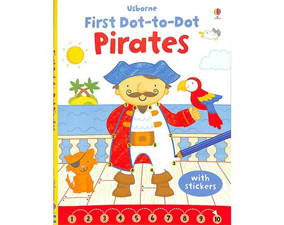 First Dot-To-Dot:Pirates 我的第一連連看圖畫書:海盜篇
