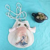 繡花包 中國風帆布小斜挎流蘇包漢服百搭印花手提袋古風手機包包 伊韓時尚