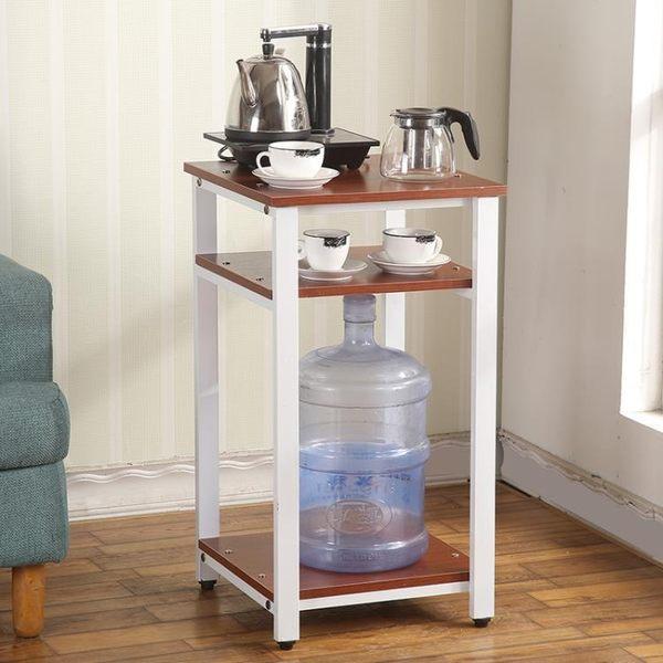 電磁爐燒水壺自動抽水壺架 飲水機置物架 茶具大水桶架子泡茶架子wy