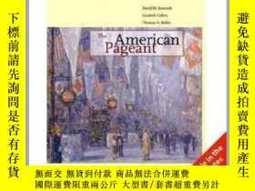 二手書博民逛書店The罕見American Pageant International Edition fourteenth ed