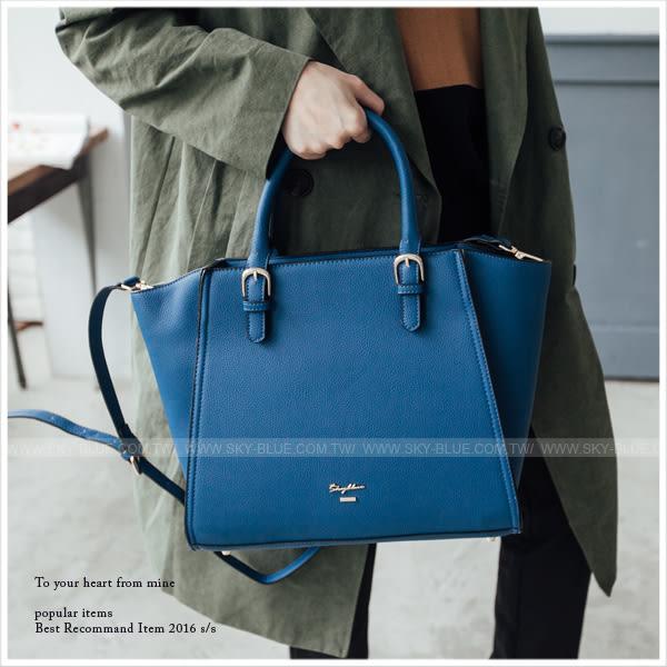 子母包-韓版skyblue原創設計簡約手提/斜背包-共8色-A03030894-天藍小舖