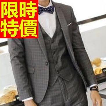 西裝外套 男西服(單外套)-收腰學院風夜店質感2色59t41【巴黎精品】