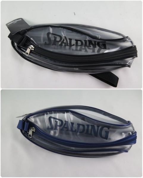 【iSport愛運動】SPALDING  斯伯丁 公司現貨 單顆裝籃球瓢蟲袋 黑/藍 SPB5309N00,-62