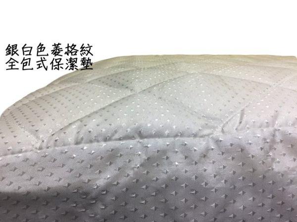 【嘉新名床】3M防潑水全包式保潔墊《標準雙人5尺》