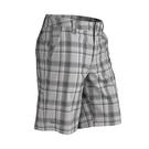 [Marmot] Cay (男) 格紋彈性短褲 灰 (M63210-1415)